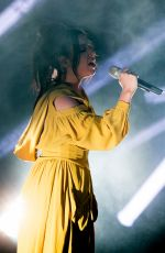 CHARLI XCX Performs at Make Up for Ever Launch of Aqua XL Eye Pencils in Paris 05/25/2016