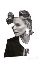 CHARLIZE THERON by Collier Schorr for V Magazine, #101 Summer Issue