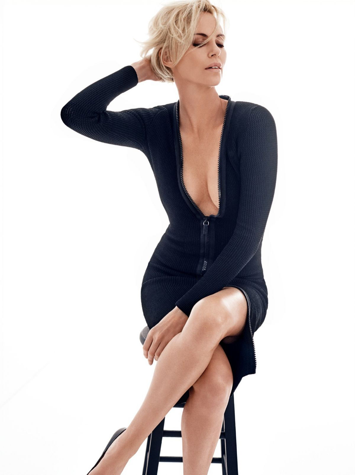 CHARLIZE THERON in GQ Magazine - HawtCelebs - HawtCelebs