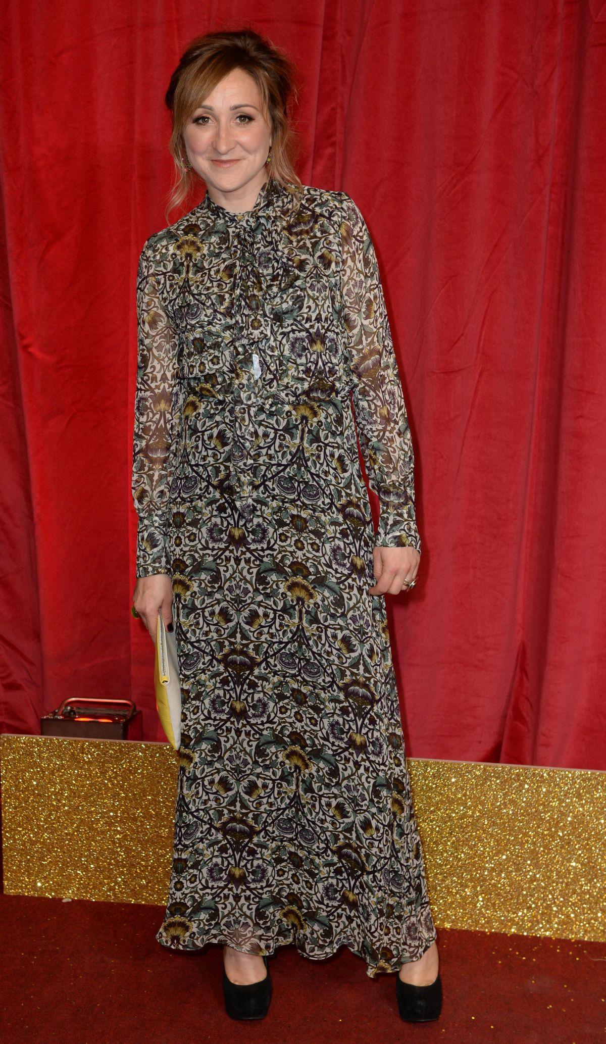 CHARLOTTE BELLAMY at British Soap Awards 2016 in London 05/28/2016