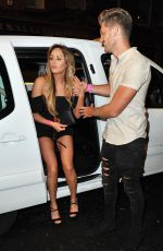 CHARLOTTE CROSBY and SOPHIE KASAEI Night Out in Newcastle 05/01/2016