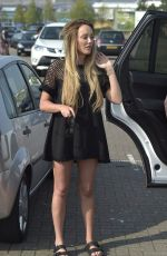 CHARLOTTE CROSBY Shopping at Ikea in Newcastle 05/08/2016