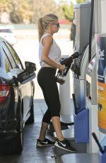 CHARLOTTE MCKINNEY at a Gas Station in Malibu 05/22/2016