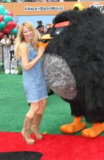 CHARLOTTE ROSS at 'The Angry Birds Movie' Premiere in Westwood 05/07/2016