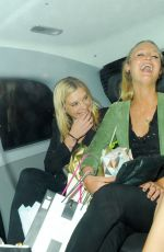 CHELSY DAVY Leaves Dorchester Hotel in London 05/19/2016