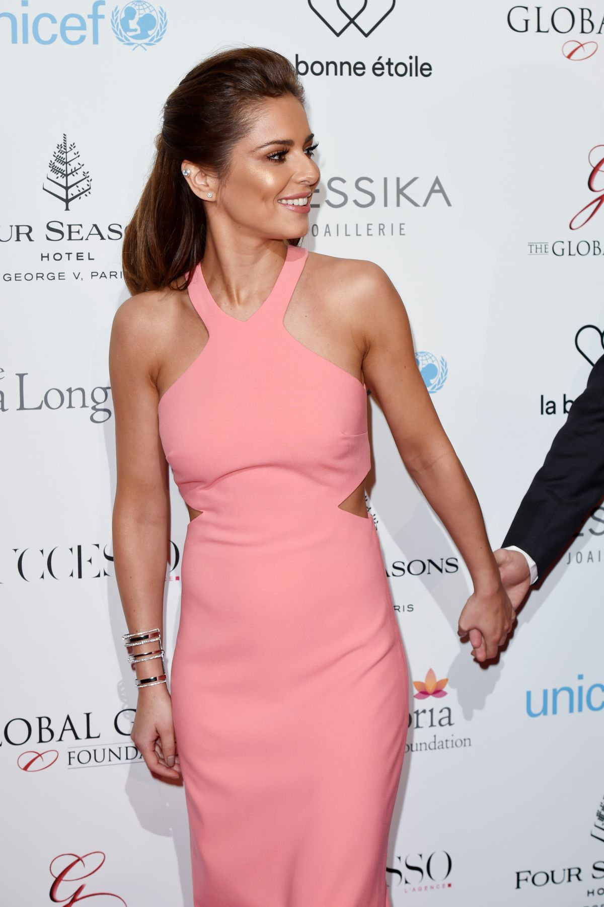 CHERYL COLE at Global Gift Gala in Paris 05/09/2016