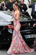 CHERYL COLE Leaves Grand Hayatt Martinez Hotel in Cannes 05/13/2016