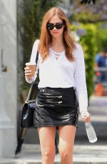 CHIARA FERRAGNI Out for Coffee in West Hollywood 05/18/2016