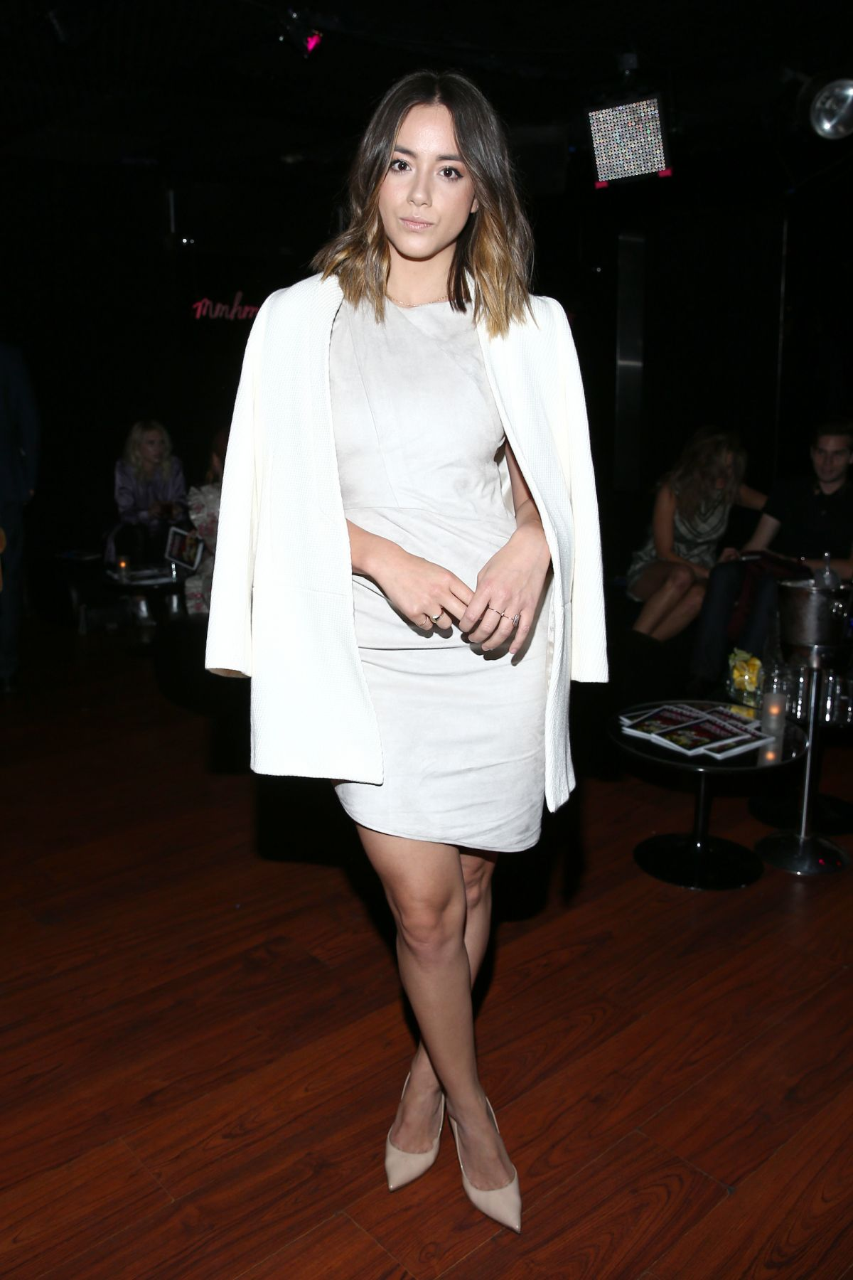 CHLOE BENNET at Wolk Morais Collection 3 Fashion Show in Los Angeles 05/24/2016