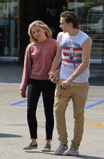 CHLOE MORETZ and Brooklyn Beckham Leaves Rite Aid in Beverly Hills 05/19/2016
