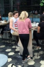CHLOE MORETZ and Brooklyn Beckham Out and About in West Hollywood 05/19/2016