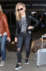CHLOE MORETZ Arrives at Los Angeles International Airport 05/12/2016