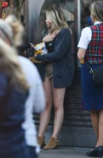 CHLOE MORETZ at Disney California Adventure in Anaheim 05/27/2016