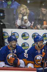 CHLOE MORETZ at Islanders Lighting Game in Brooklyn 05/06/2016