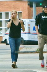 CHLOE MORETZ in Jeans Out in Beverly Hills 05/18/2016