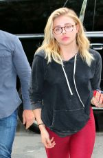 CHLOE MORETZ Leaves Bowery Hotel in New York 05/24/2016