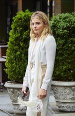 CHLOE MORETZ Leaves Her Hotel in New York 05/03/2016