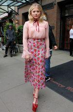 CHLOE MORETZ Leaves Her Hotel in New York 05/10/2016