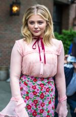 CHLOE MORETZ Leaves Her Hotel in New York 05/10/2016