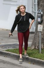 CHLOE MORETZ Out and About in Los Angeles 05/20/2016