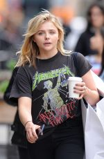 CHLOE MORETZ Out and About in Manhattan 05/09/2016