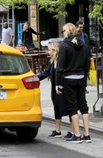 CHLOE MORETZ Out and About in West Hollywood 05/07/2016