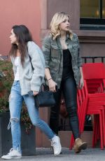 CHLOE MORETZ Out for Lunch with a Friends in New York 05/08/2016