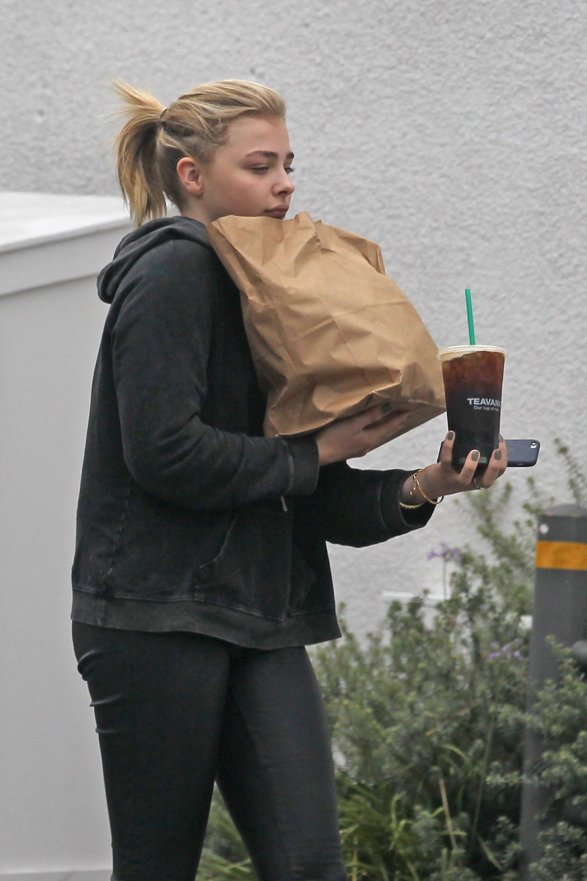 CHLOE MORETZ Out Shopping in Los Angeles 05/20/2016