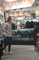 CHLOE MORETZ Shopping at XIV Karats in Los Angeles 05/20/2016