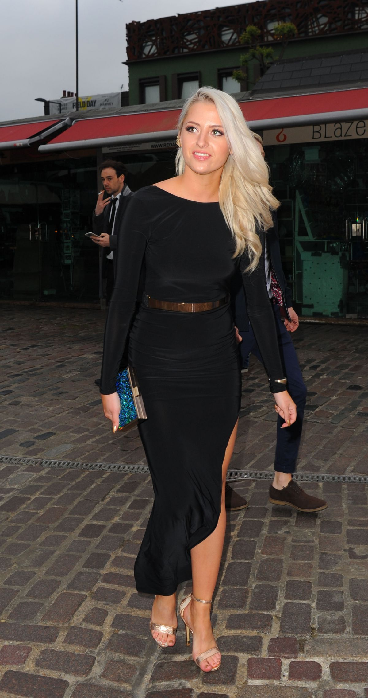 CHLOE PAIGE at Atrium Kitchen Launch Party in Camden 05/25/2016