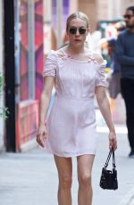 CHLOE SEVIGNY Out and About in New York 05/26/2016