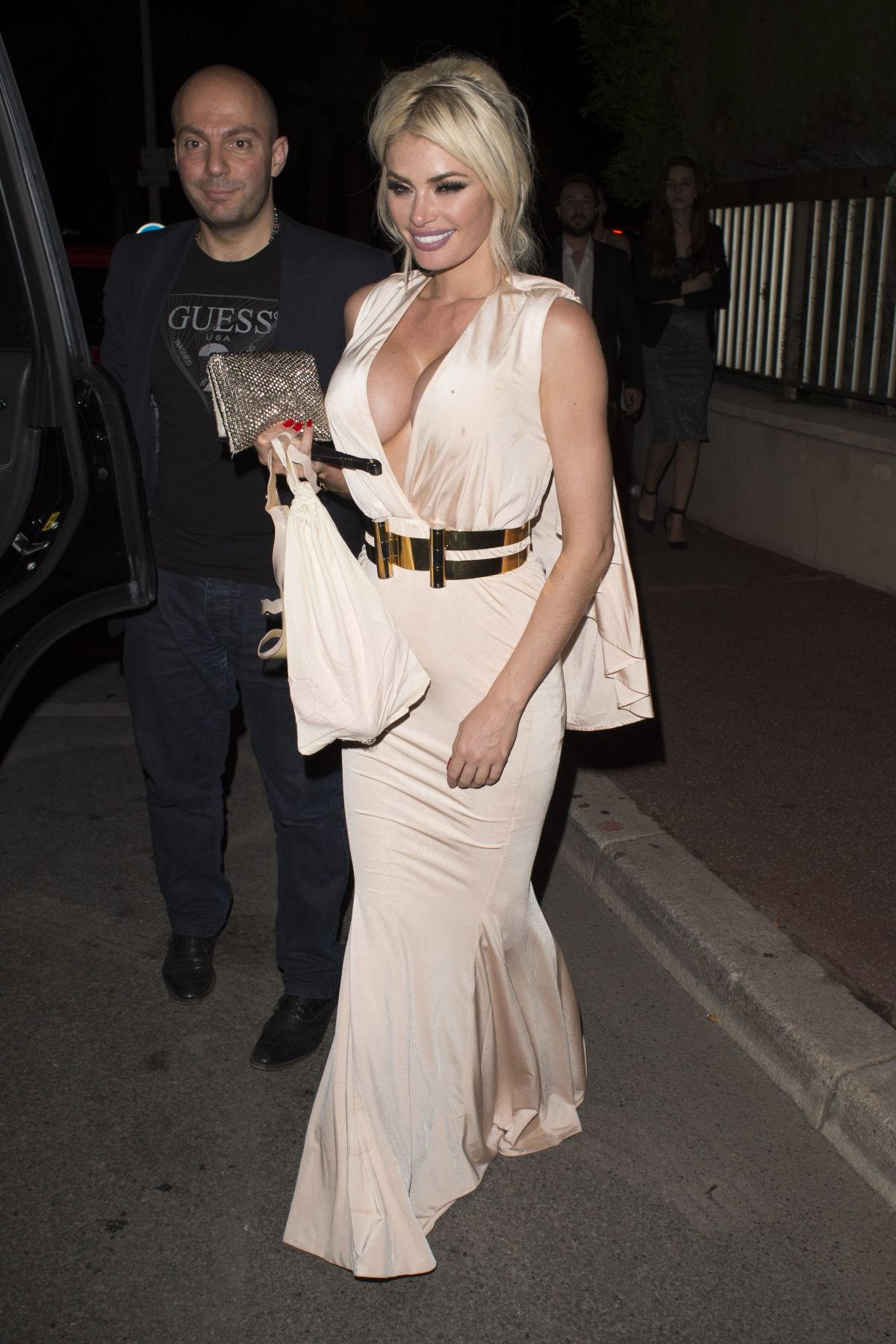 CHLOE SIMS at Gotha Nightclub in Cannes 05/15/2016