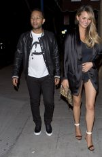 CHRISSY TEIGEN at Jones Bar & Restaurant in Los Angeles 05/08/2016