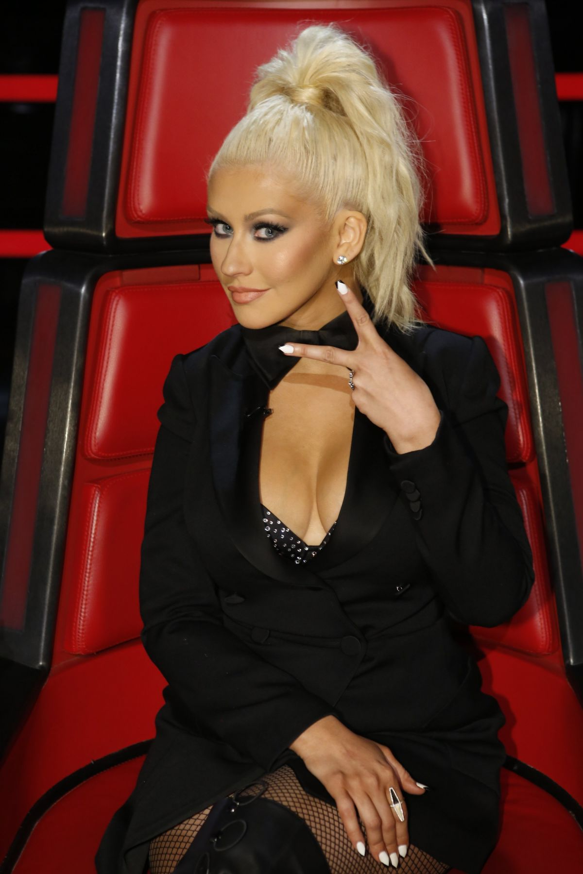 CHRISTINA AGUILERA – The Voice Season 10 Promos - HawtCelebs