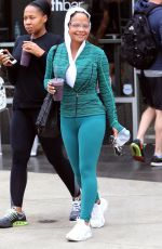 CHRISTINA MILIAN Leaves Soul Cycle in Los Angeles 05/19/16