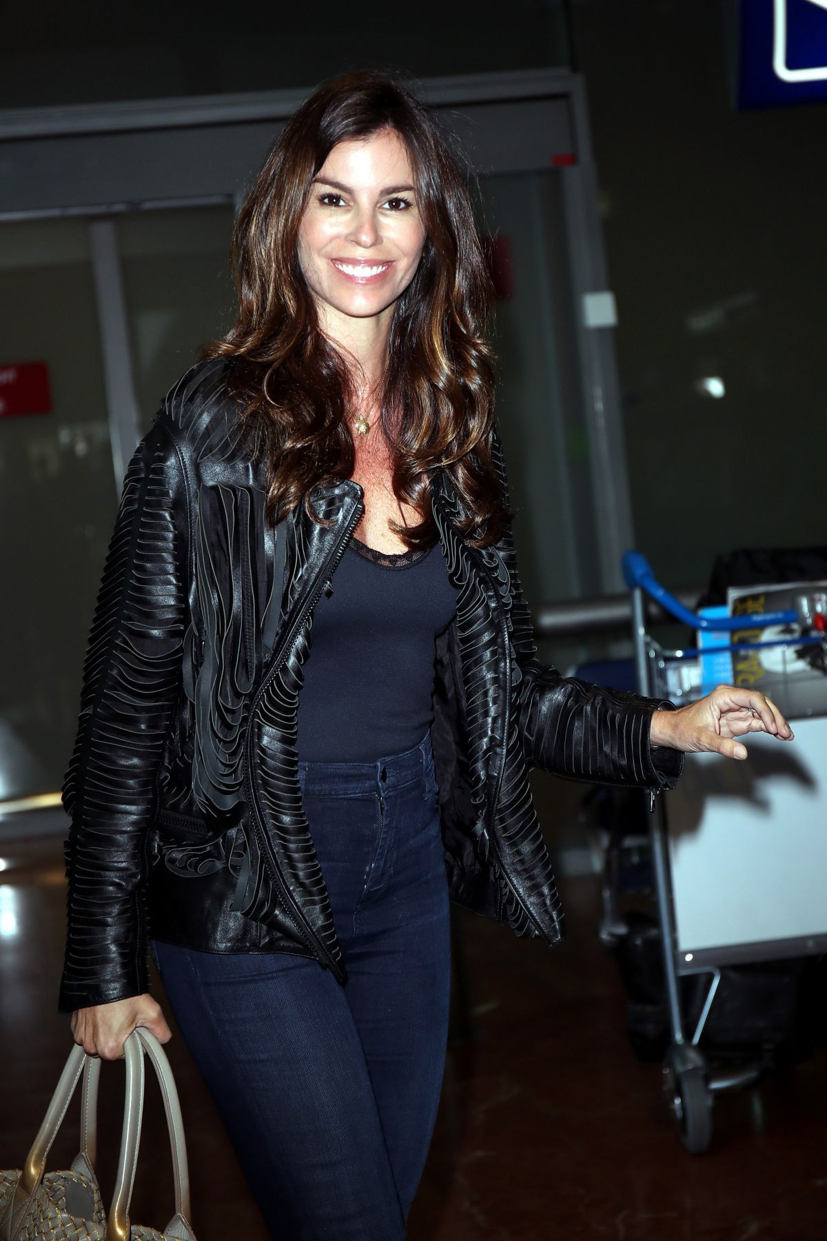 CHRISTINA PITANGUY Arrives at Nice Airport 05/16/2016