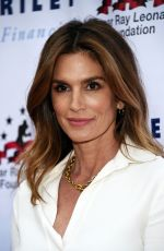 CINDY CRAWFORD at 7th Annual Big Fighters Charity Boxing Night in Hollywood 05/25/2016
