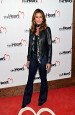 CINDY CRAWFORD at Heart Foundation