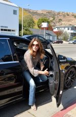 CINDY CRAWFORD at Joel Silver's Memorial Day Party in Malibu 05/30/2016