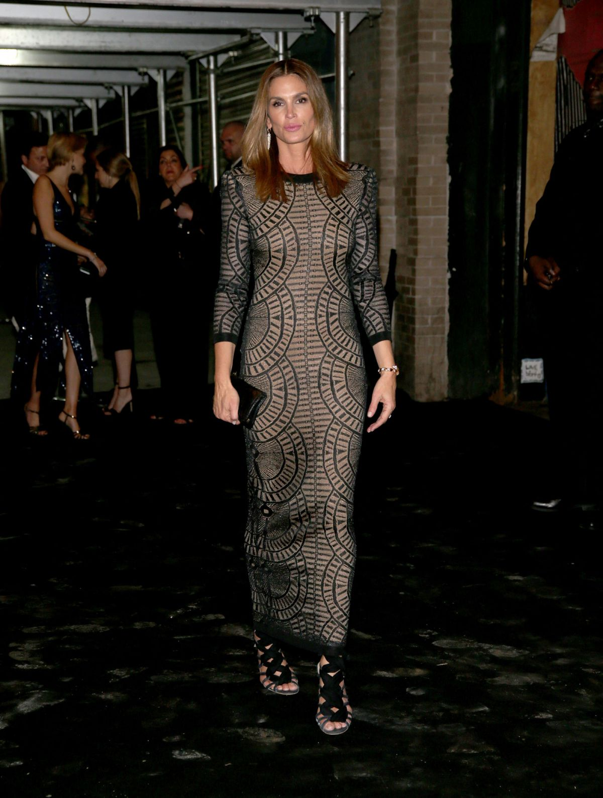 CINDY CRAWFORD at Met Gala After-party in New York 05/02/2016