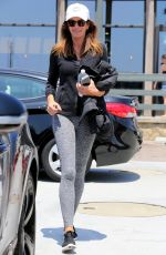 CINDY CRAWFORD in Tights Out in Malibu 05/26/2016