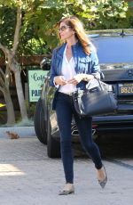 CINDY CREWFORD Out Shopping in Malibu 05/24/2016