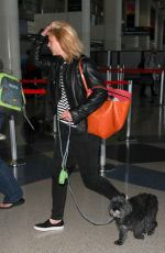 CLAIRE DANES at Los Angeles International Airport 05/26/2016