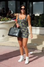 CLAUDIA ROMANI Out and About in Miami 04/30/2016