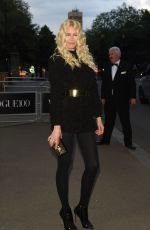 CLAUDIA SCHIFFER at Vogue 100th Anniversary Gala Dinner in London 05/23/2016