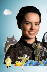 DAISY RIDLEY in The Big Issue No. 1206