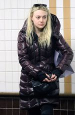 DAKOTA FANNING at Subway in New York 06/08/2016