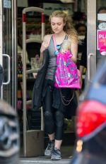 DAKOTA FANNING Leaves a Gym in New York 05/09/2016