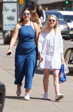 DAKOTA FANNING Out in New York 05/12/2016