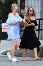 DAKOTA FANNING Out in New York 05/25/2016